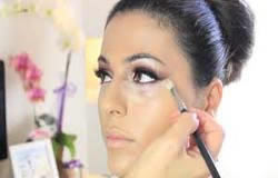 bruidskapsel en make-up
