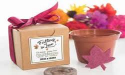 Huwelijksbedankjes bloemen en zaden
