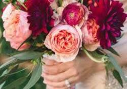 Bloemen voor trouwdag