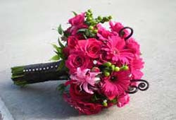 Bruidsbloemen decoraties