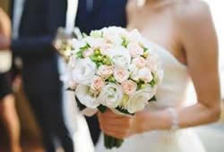 Bloemist voor bruidsboeket