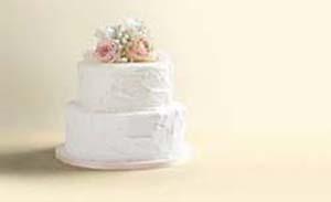 Heerlijke bruidstaart
