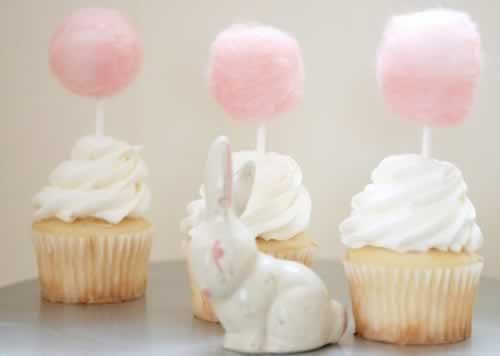 cupcakes met suikerspin