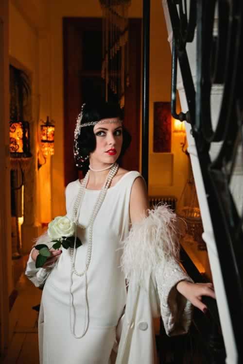 bruidsmode jaren 20