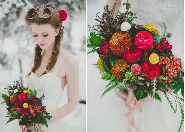 de kerst bruid