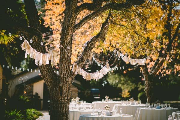 Een festival-bruiloft-organiseren