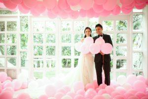 ballonnen shoot trouwdag