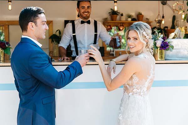 Snackwagen bruiloft