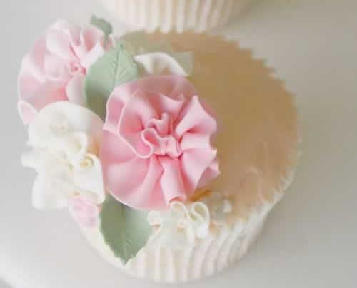Cupcakes in een rokje