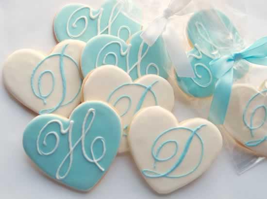 Bruiloft koekjes