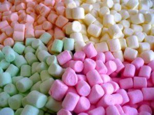 Marshmallow mini bruidstaart