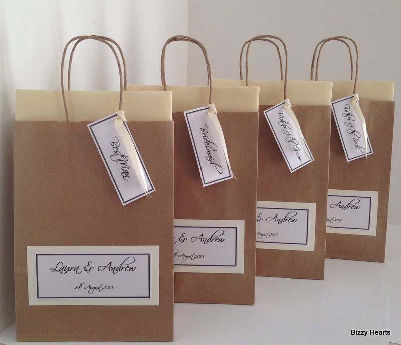 Goodiebag voor de bruiloftsgasten