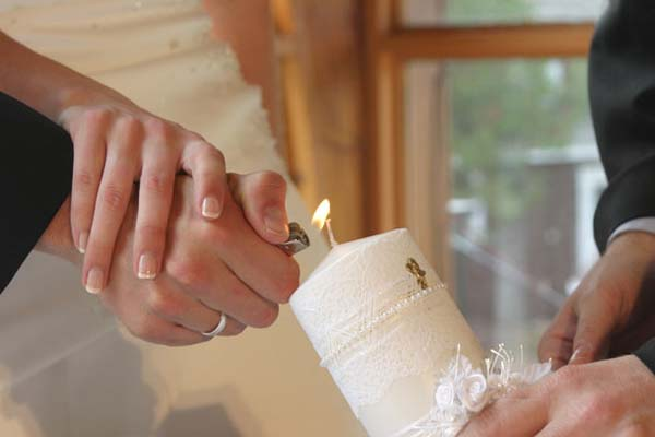 Herinnering dierbare ceremonie