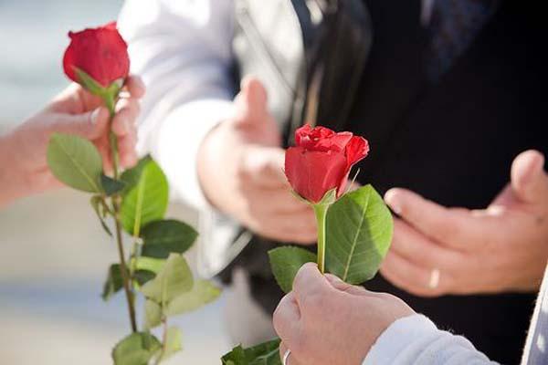 ceremonie roos