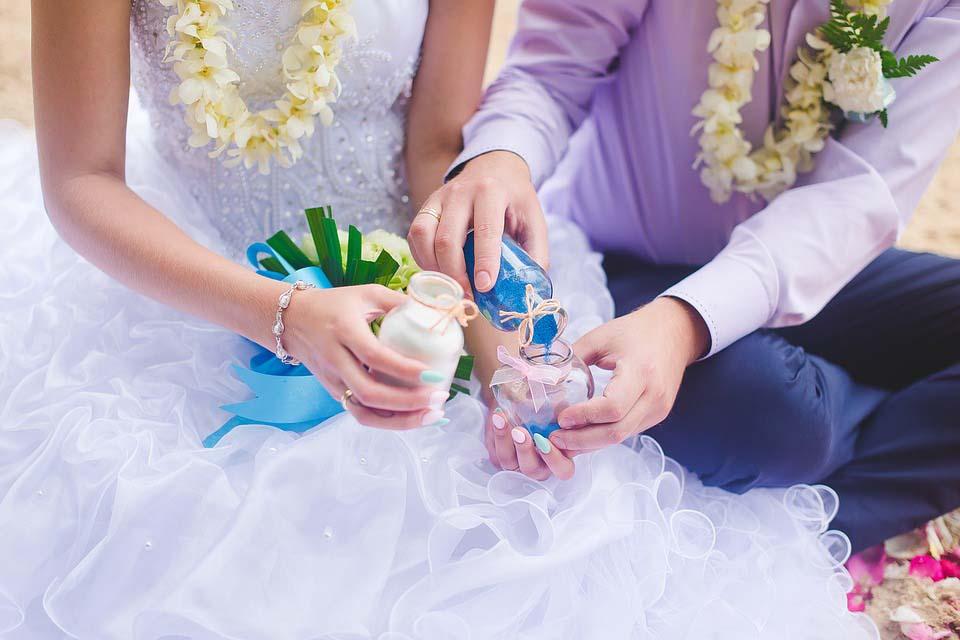 leuk idee voor huwelijksceremonie