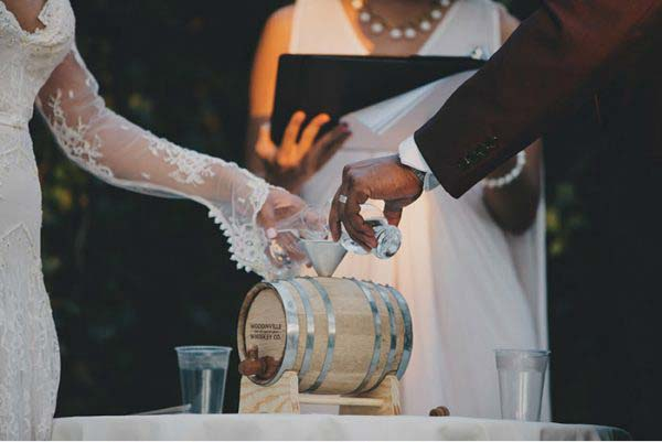 wijn ceremonie