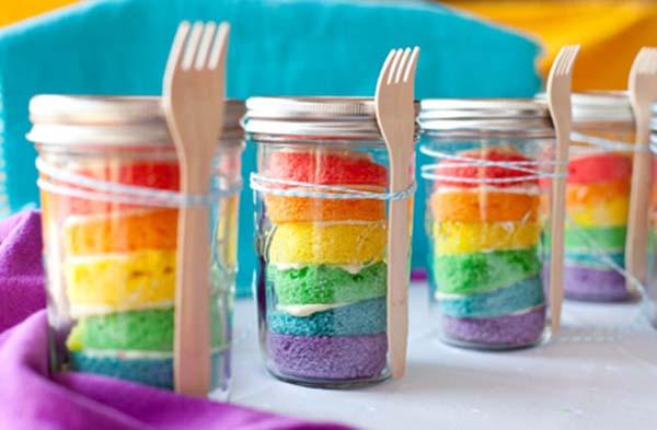 Cupcakes in een potje