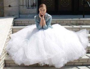 Jeans jasje voor de bruid