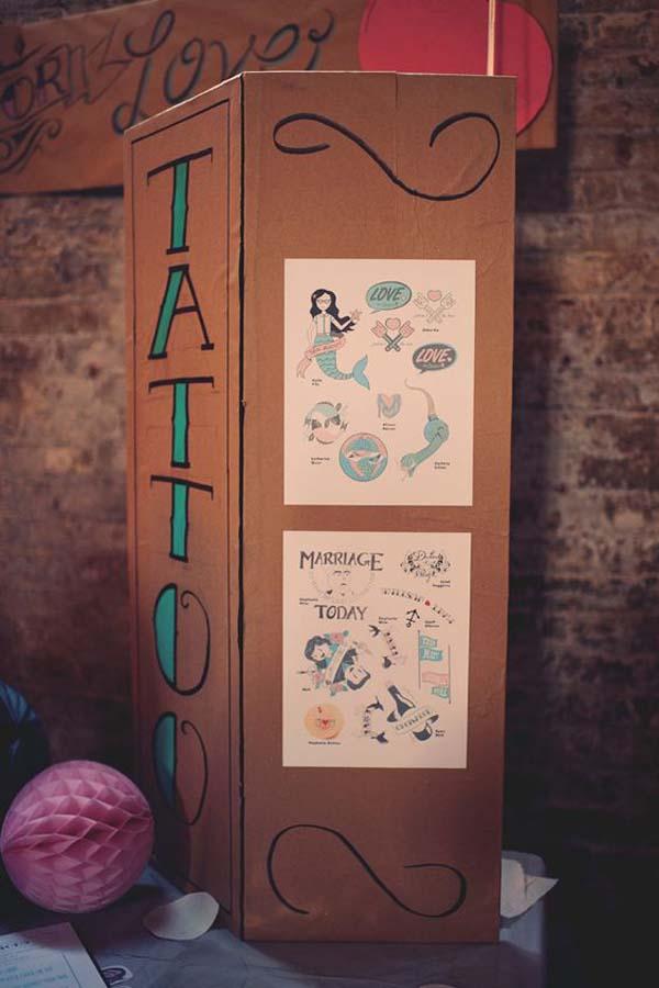 Nep tattos bruiloft