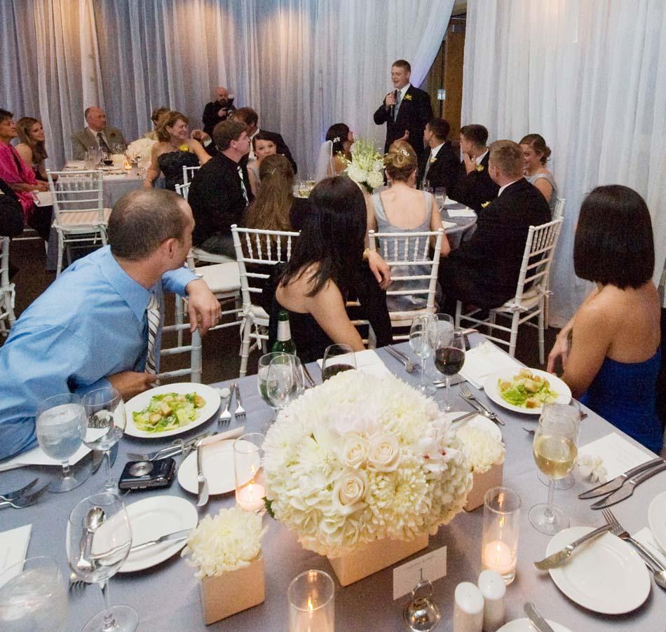 Wat te vermelden in de toespraak van de bruidegom