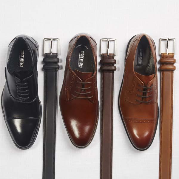 Combinatie schoenen met riem