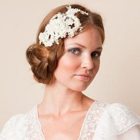 Haarsieraad bruid parels