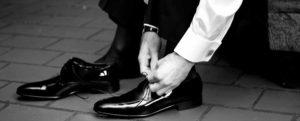 schoenen voor de bruidegom
