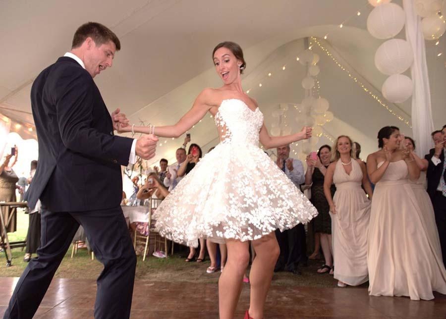 Een tweede trouwjurk voor avondfeest