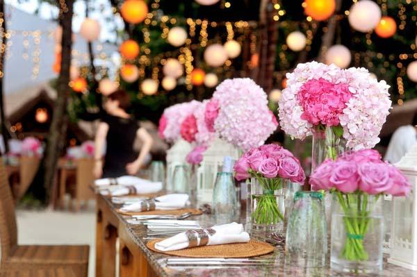 Kosten decoratie bruiloft