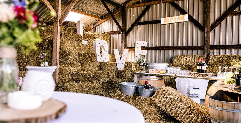 Een bruiloft op de boerderij