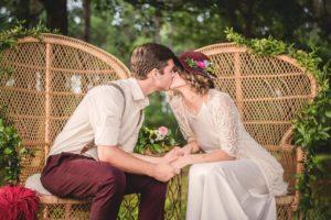 Bohemian rustiek bruiloft