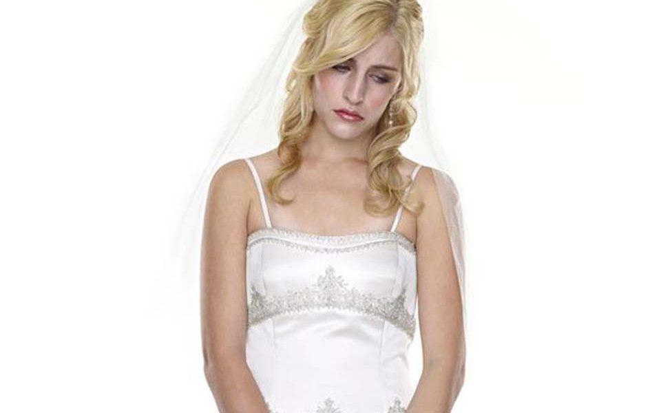 Twijfels over aankoop trouwjurk
