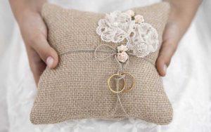 Ringkussens bruiloft