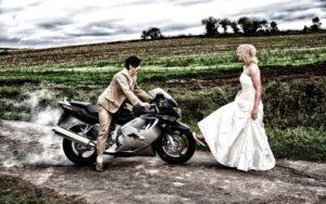 Trouwjurk ba bruiloft