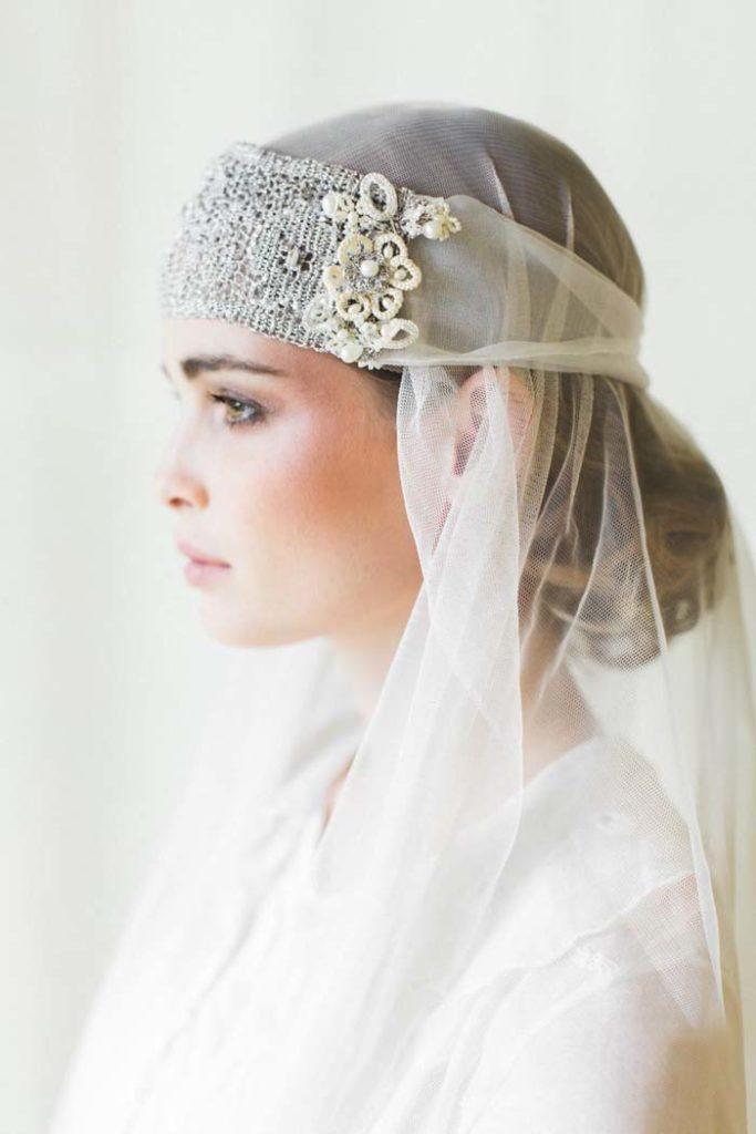 Bandeau bruidssluier