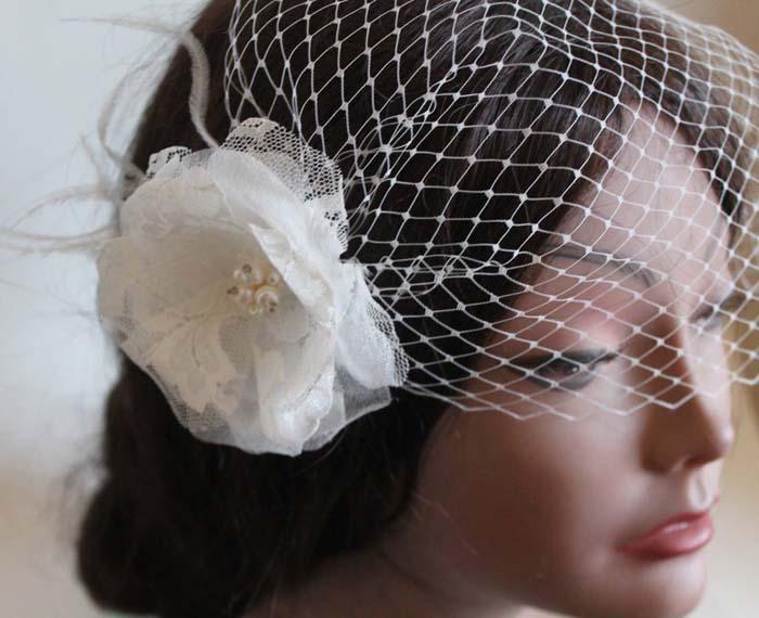 Blusher bruidssluier