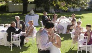 Thuis bruiloft