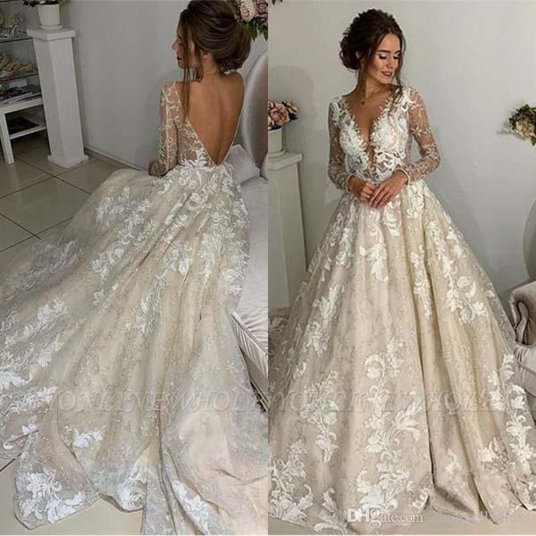 Glamour trouwjurk