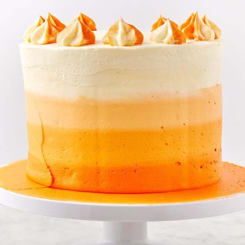 Oranje-bruidstaarten