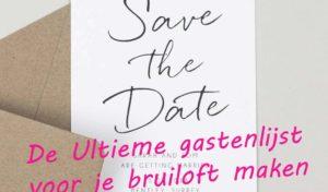 Planning bruiloft