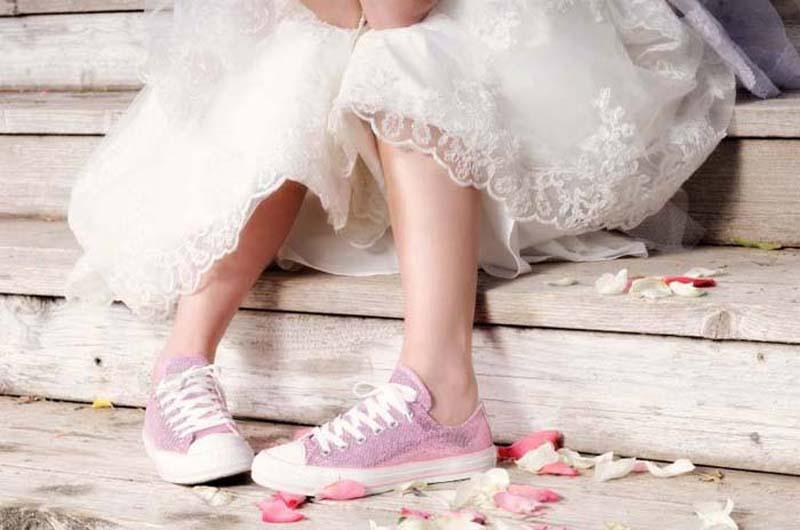 Schoenen bruid avondfeest