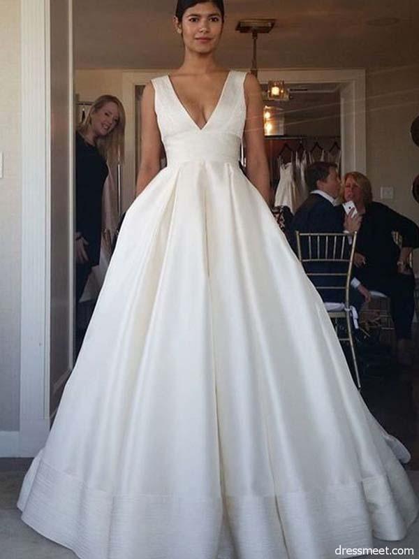 klassiek model trouwjurk