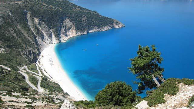 Grieken land strand