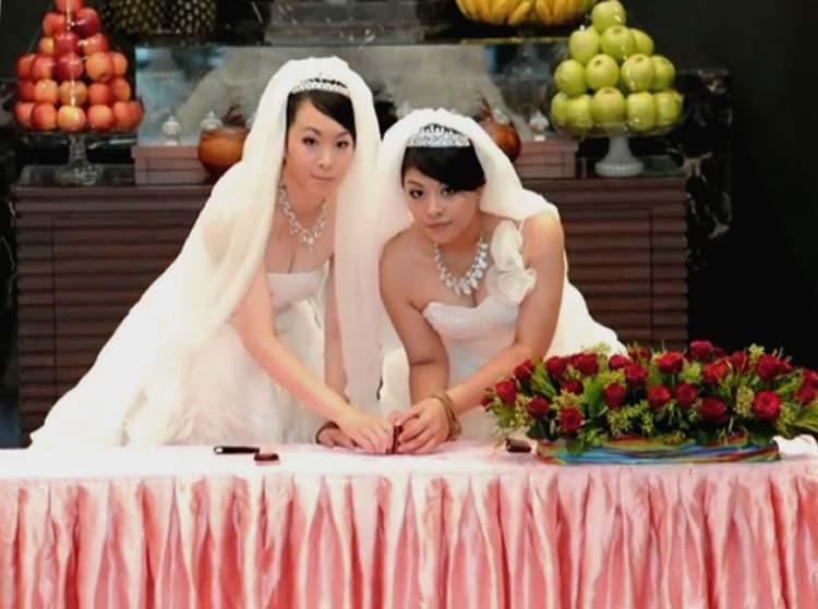 Sluier Lesbische bruid