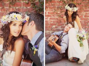 Bohemian bruiloft thema