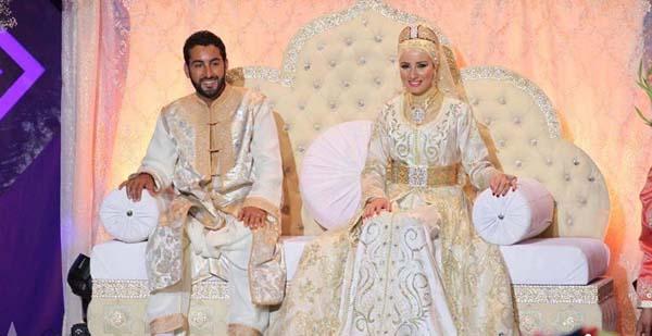 Marokkaans bruidspaar