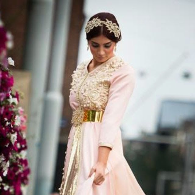 Marokkaanse bruidskleding