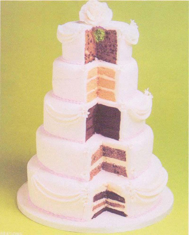Trends bruidstaarten verschillende smaken