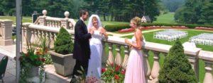 Buiten bruiloft plannen