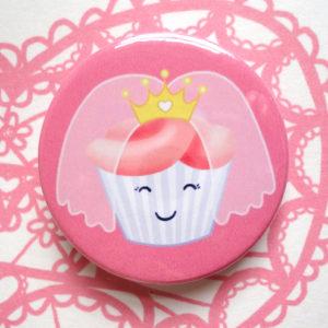 roze button corsage